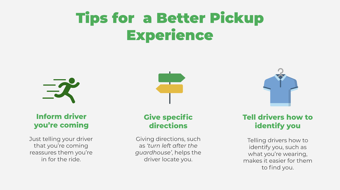 Tips for a Better Pickup Experience