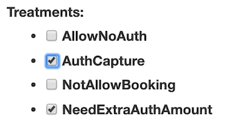 Treatments: AuthCapture
