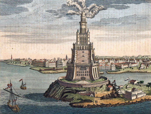 Figure 3: Lighthouse of Alexandria