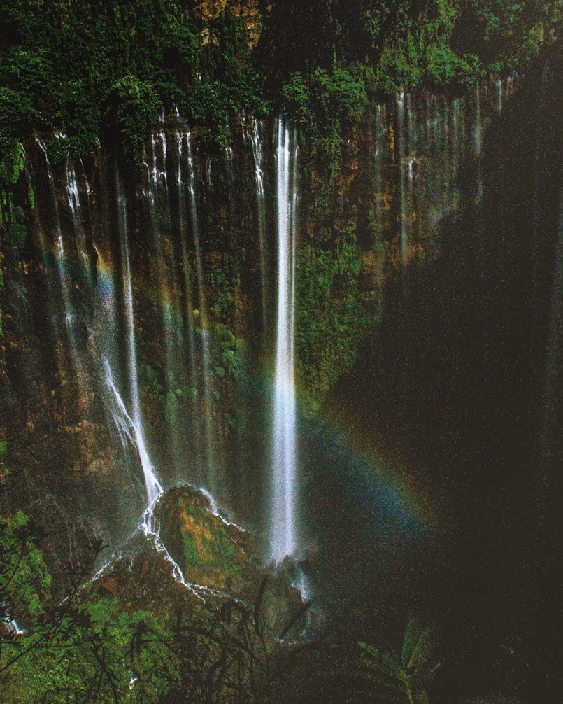 Coban Sewu Waterfall In Indonesia