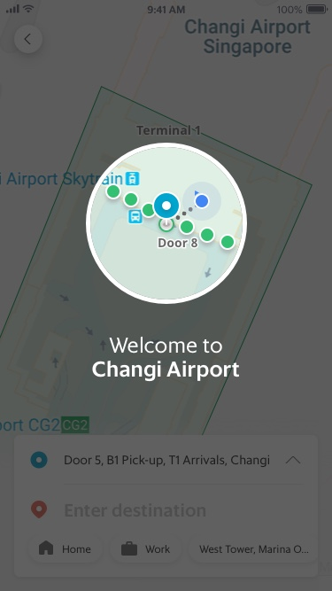 Welcome to Changi Airport