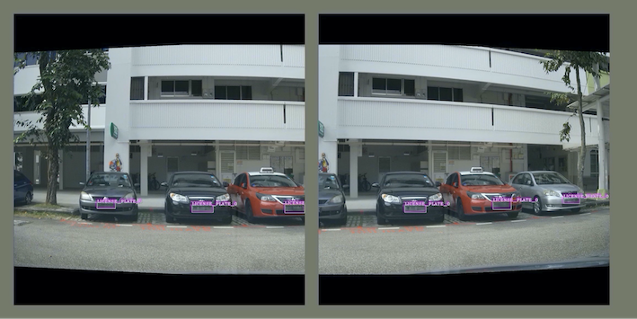 Figure 6 - Two image views generated