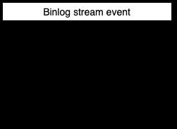 Binlog stream event main fields